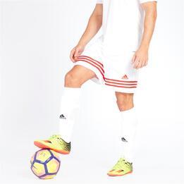 ADIDAS Pantalón Fútbol Blanco Hombre
