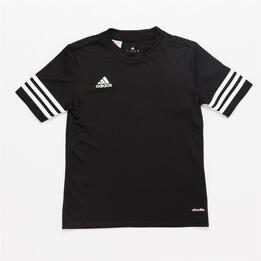 ADIDAS Camiseta Fútbol Negro Niño (8-14)