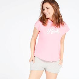 KELME Camiseta Capucha Rosa Mujer