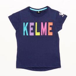 Camiseta KELME Marino Niña (10-16)