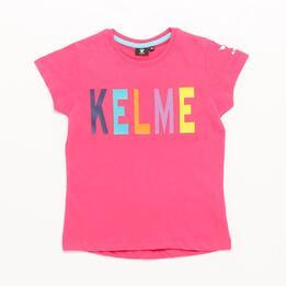 Camiseta KELME Fucsia Niña (10-16)