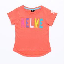 Camiseta KELME Rosa Niña (2-8)
