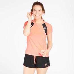 Camiseta Running Fila Coral Mujer
