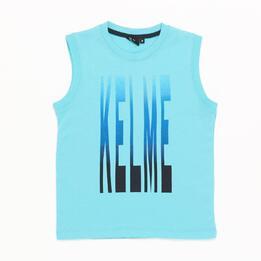 Camiseta Tirantes Turquesa niño (2-8)
