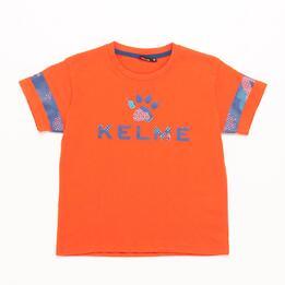 Camiseta KELME Naranja Niño (2-8)