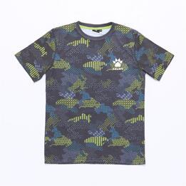 Camiseta KELME Gris Niño (2-8)