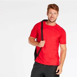 Camiseta Roja Hombre Proton Basic