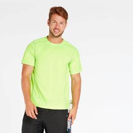 Camiseta Tenis Verde Hombre Proton