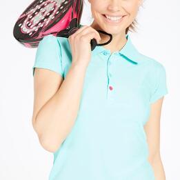 Polo Tenis PROTON BASIC Turquesa Mujer