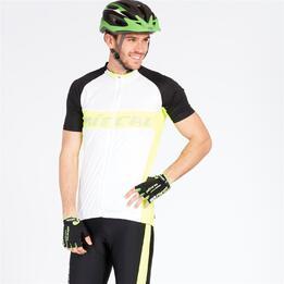 Maillot Ciclismo Mitical Plata Blanco Negro Hombre