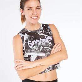 Camiseta Corta SILVER STAMPS Estampada Mujer