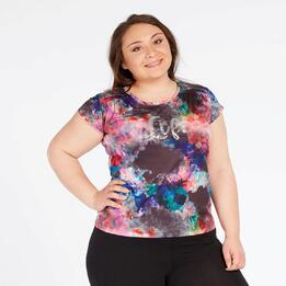 Camiseta Life Lady SILVER Multicolor Negro Mujer