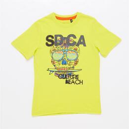 Camiseta Manga Corta SILVER SAN DIEGO Lima Niño (10-16)