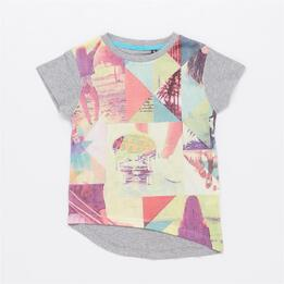 Camiseta Estampada SILVER SKATE PAULIN Multicolor Niña (10-16)