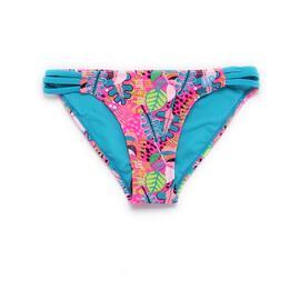 Braguita Bikini Tiras UP STAMPS Hojas Niña (10-16)