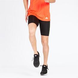 Adidas Malla Cortas Running Negras Mujer