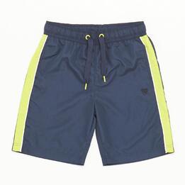 Pantalón Corto Azul marino Verde Niño Up Basic (10-16)