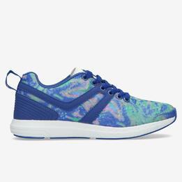 SILVER Zapatillas Azul Mujer