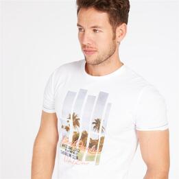 Camiseta Blanca TRUNK&ROOTS Hombre