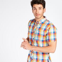 Camisa Cuadros TRUNK&ROOTS Multicolor Hombre