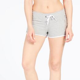 Pantalón Corto TRUNK&ROOTS Gris Mujer