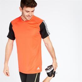 ADIDAS Camiseta Naranja Hombre