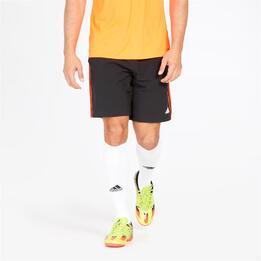 Adidas Pantalón Corto Negro Naranja Hombre
