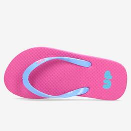 Chanclas Fucsia Azul niña Up (28-35)