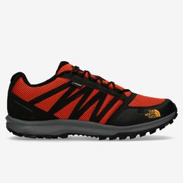 THE NORTH FACE LITEWAVE Zapatillas Gore Tex Negro Naranja Hombre