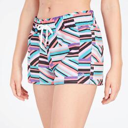 Pantalón Corto Mujer Multicolor Up