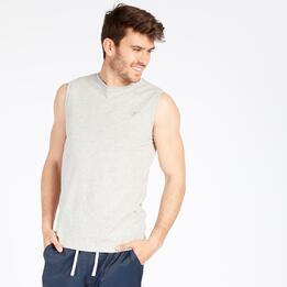 Camiseta Sin Mangas UP BASIC Gris Hombre