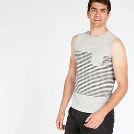 Camiseta Gris Hombre Up