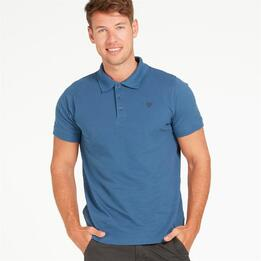 Polo UP BASIC Denim Hombre