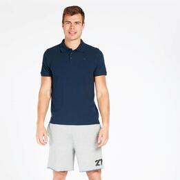 Polo Manga Corta UP BASIC Marino Hombre