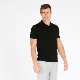 Polo Manga Corta UP BASIC Negro Hombre