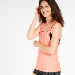 Camiseta Tirantes Coral Mujer Up