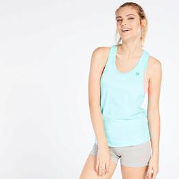 Camiseta Tirantes Turquesa Mujer Up Basic