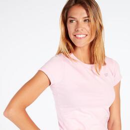 Camiseta Rosa Up Basic Mujer