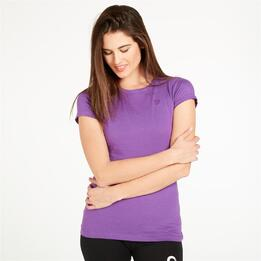 Camiseta UP Basic Morado Mujer