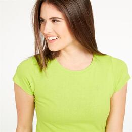 Camiseta UP Basic Verde Mujer