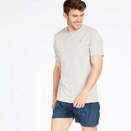 Camiseta Gris Up Basic Hombre