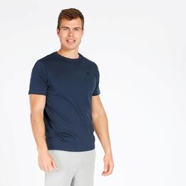 Camiseta Manga Corta UP BASIC Marino Hombre