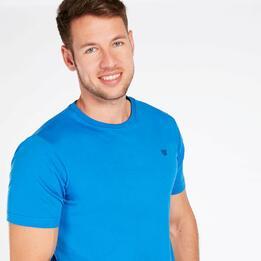 Camiseta Manga Corta UP BASIC Azul Hombre