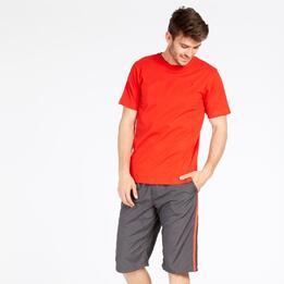 Camiseta Roja Up Basic Hombre