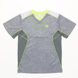 FILA Safety Yellow Camiseta Blanco Amarillo Niño (6-16)