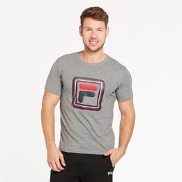 FILA CURVE Camiseta Gris Hombre