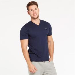 Camiseta Azul Marino Hombre Fila Cove