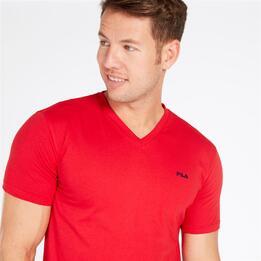 Camiseta Roja Hombre Fila Cove