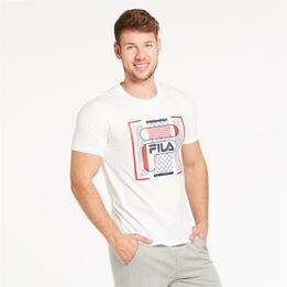 FILA BITMAP Camiseta Blanco Hombre