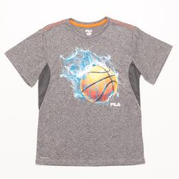 FILA CORAL Camiseta Gris Niño (6-16)